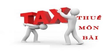Thời hạn nộp thuế môn bài năm 2017