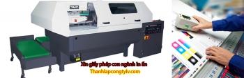 Xin giấy phép con ngành in ấn