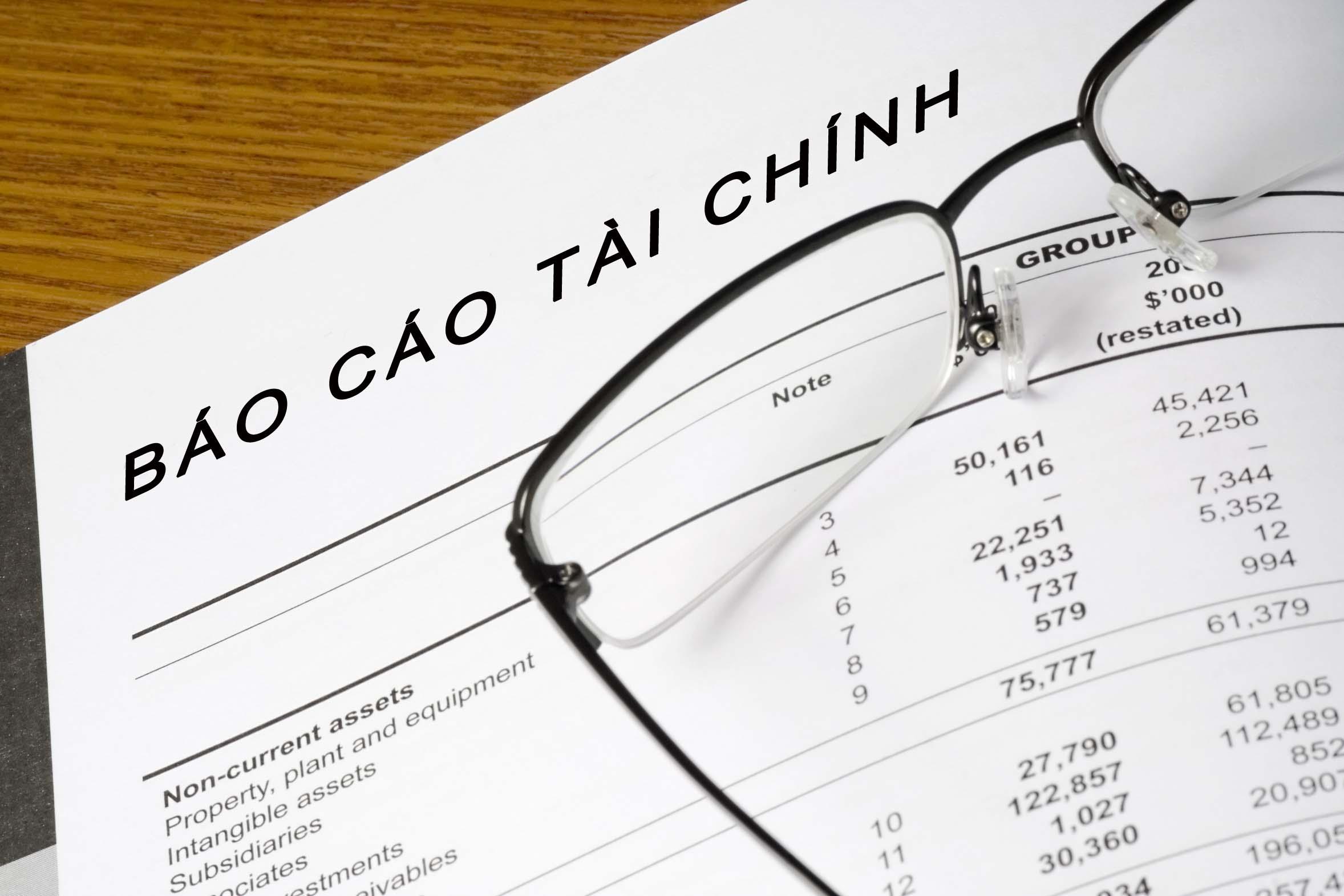 Dịch vụ làm báo cáo tài chính giá rẻ tại Hà Nội