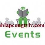 Thủ tục thành lập công ty tổ chức sự kiện