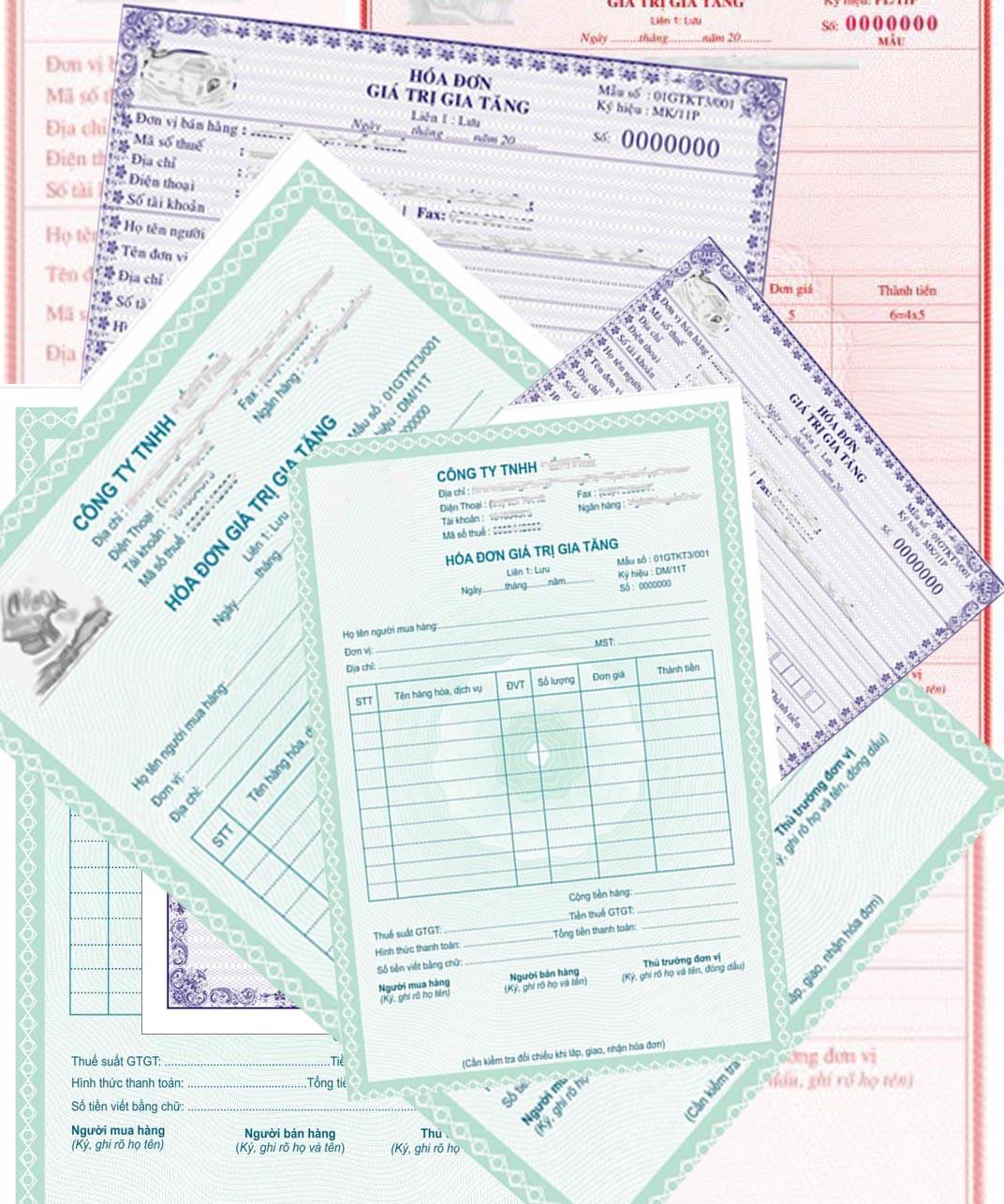 Nguyên tắc tạo hóa đơn